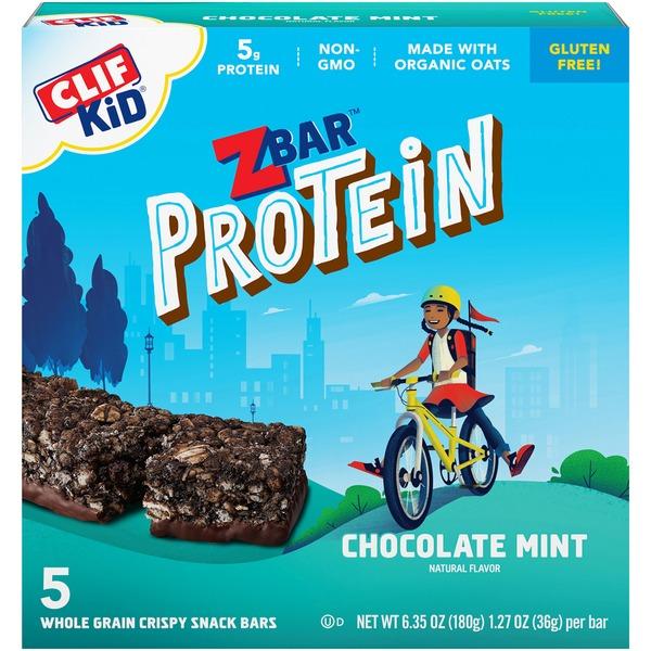 Clif Kid Zbar Protein Whole Grain Protein Snack (1 27 oz