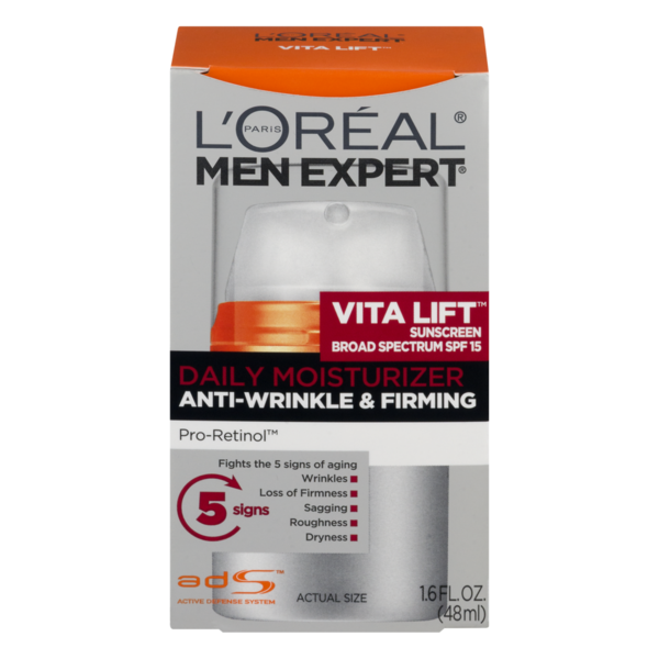 dee3913af6b4 L'Oreal Men Expert Daily Moisturizer Anti-Wrinkle & Firming (1.6 fl ...