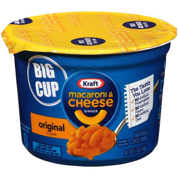 kraft dinners original flavor macaroni cheese dinner from super