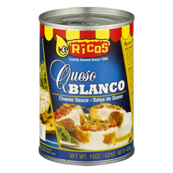 Ricos Queso Blanco Aged Cheddar Cheese Sauce (15 oz) from
