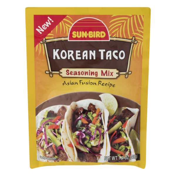 Sun-Bird Seasoning Mix Korean Taco (1 4 oz) from Safeway