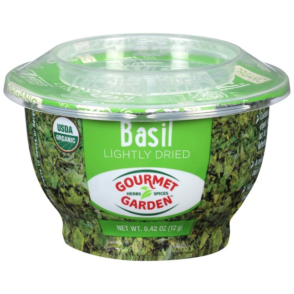 Gourmet Garden™ Lightly Dried Basil (0.42 oz) from Whole Foods ...