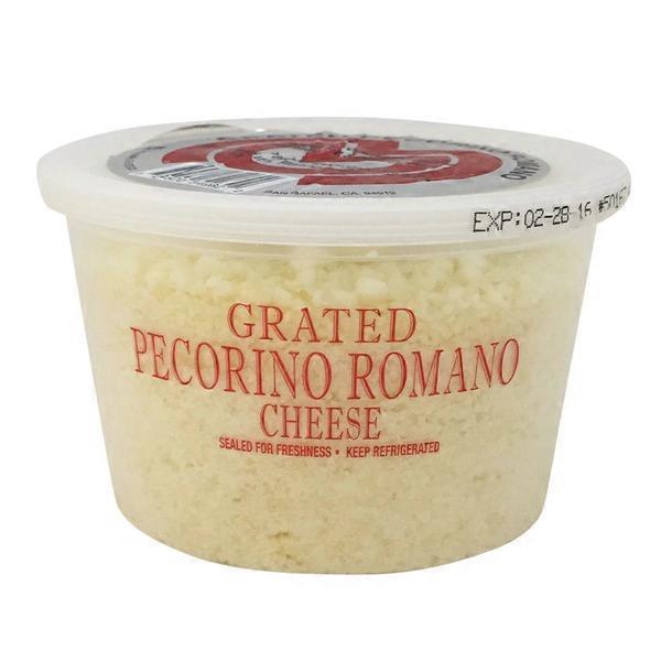 Marin Cheese Company Grated Pecorino Romano Cheese (8 oz) from