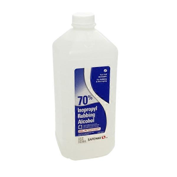 Signature Care Isopropyl Rubbing Alcohol, 70% (32 oz) from