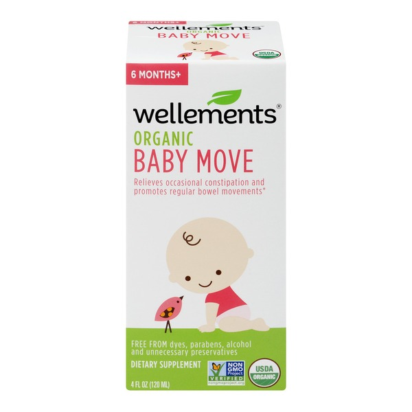 Wellements Organic Baby Move Dietary Supplement (4 fl oz) - Instacart