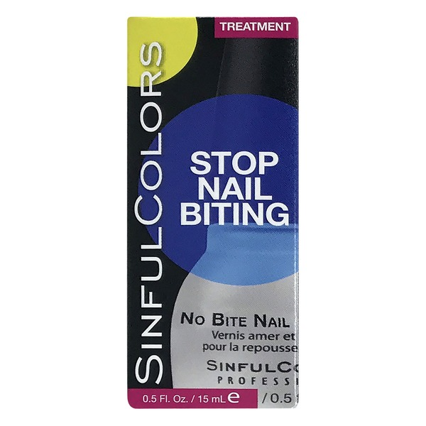 Sinfullcolors Stop Nail Biting Treatment (0.5 fl oz) from Tops ...