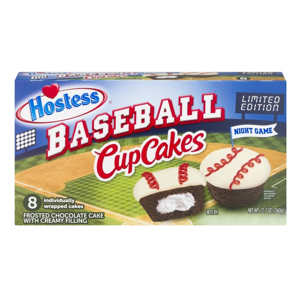 hostess coffee cake hostess baseball cupcakes chocolate 8 ct 12 7 oz from 4852