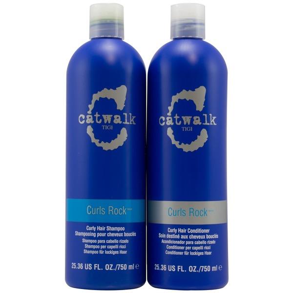 Tigi Catwalk Curls Rock Shampoo Conditioner Duo 2536 Fl