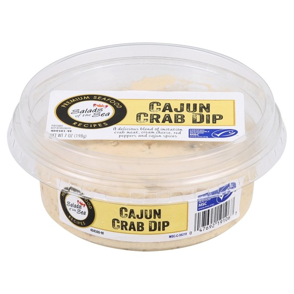 Salads Of The Sea Dip, Cajun Crab (7 oz) from Albertsons