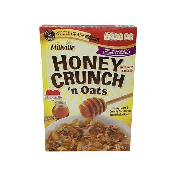 Millville Honey Crunch & Oats Cereal (14.5 Oz) From ALDI