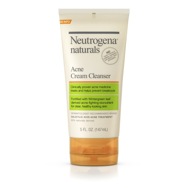 Neutrogena Naturals Acne Cream Cleanser 5 Fl Oz From King Soopers