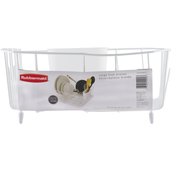 Rubbermaid Large Dish Drainer (1 ct) from Kroger - Instacart