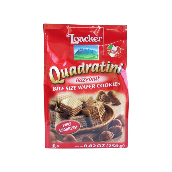 big y world class market loacker quadratini hazelnut cream wafers