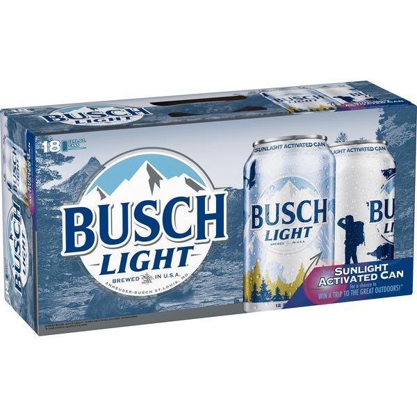 Busch Light Beer (12 fl oz) from Albertsons - Instacart