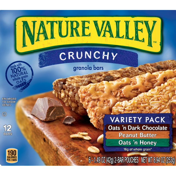 Smart N Final Near Me >> Nature Valley Oats N Dark Chocolate Peanut Butter And Oats N Honey