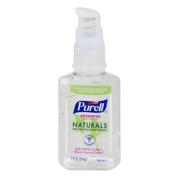 Purell Advanced Hand Sanitizer Naturals 2 Fl Oz Instacart
