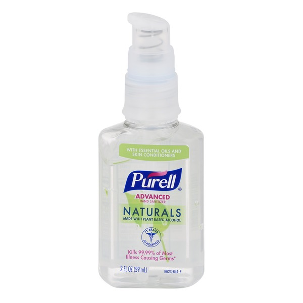 Purell Advanced Hand Sanitizer Naturals 2 Fl Oz Instacart