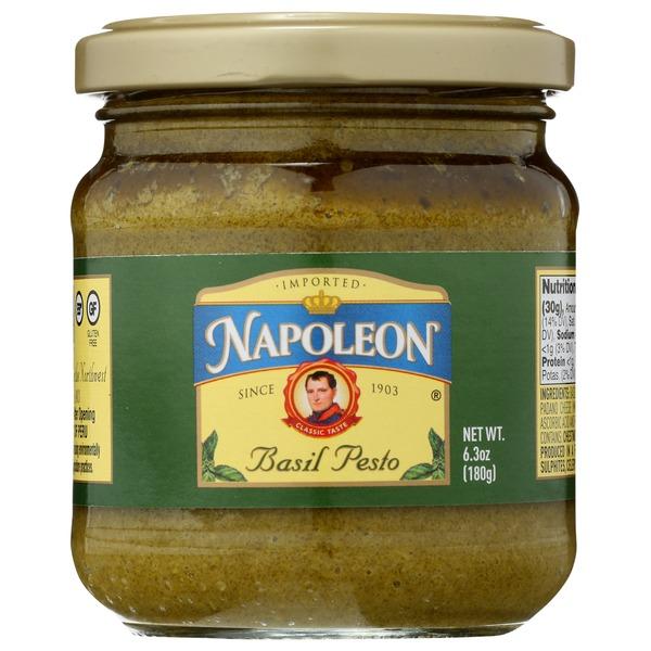 Napoleon Co Basil Pesto Sauce 6 3 Oz Instacart