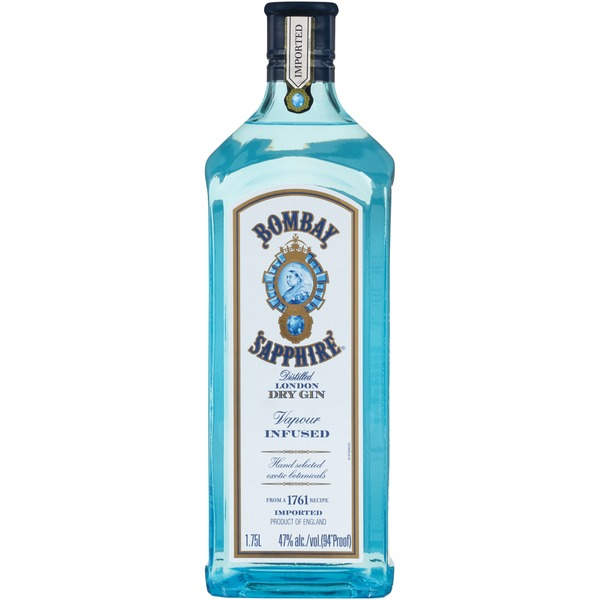 Bombay Sapphire Sapphire Vapour Infused Distilled London Dry Gin