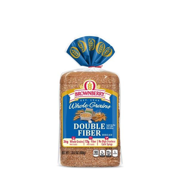 Brownberry/Arnold/Oroweat Whole Grains Double Fiber Bread