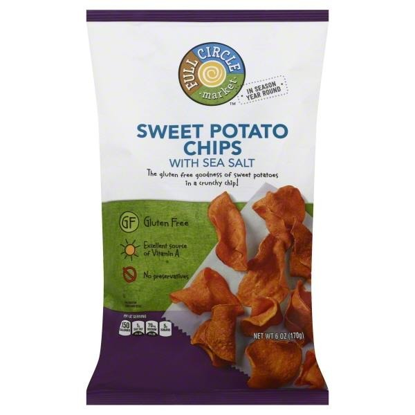 Full Circle Sweet Potato Chips With Sea Salt (6 oz) from