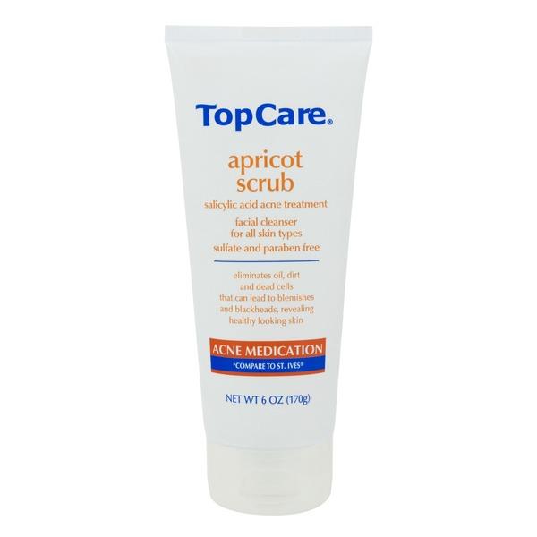 TopCare Acne Medication Apricot Scrub Salicylic Acid
