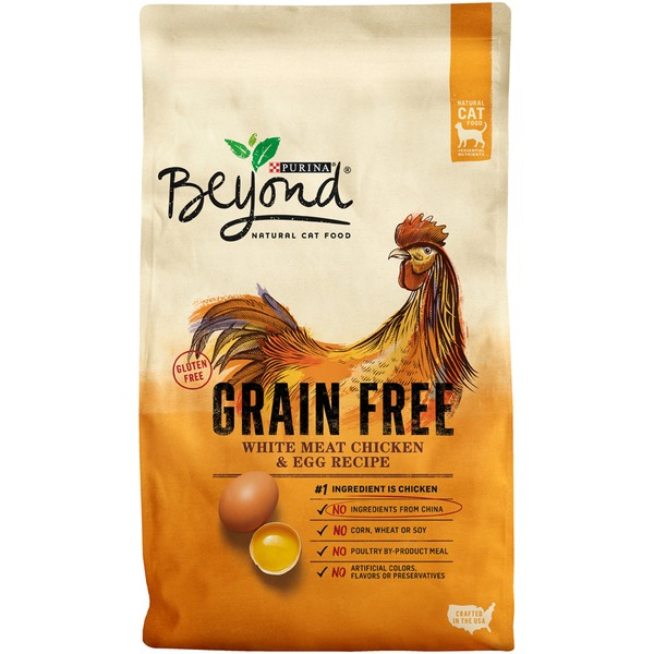 Beyond cat dry grain free white meat chicken egg recipe cat food beyond cat dry grain free white meat chicken egg recipe cat food forumfinder Choice Image