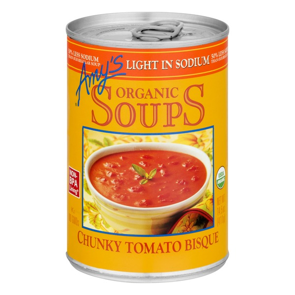 Outstanding Amys Kitchen Organic Low Sodium Chunky Tomato Bisque Soup Interior Design Ideas Inamawefileorg