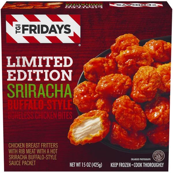 Tg I Fridays Sriracha Buffalo Style Limited Edition Boneless