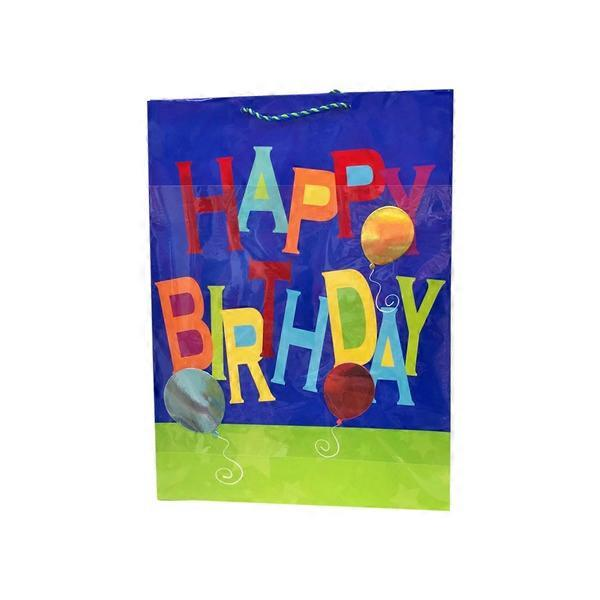Colorful Happy Birthday Jumbo Gift Bag