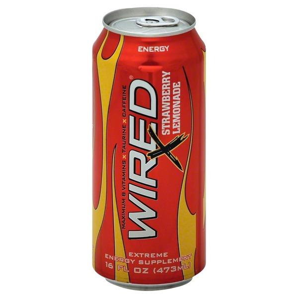 Wired Energy Drink, Strawberry Lemonade from Albertsons - Instacart