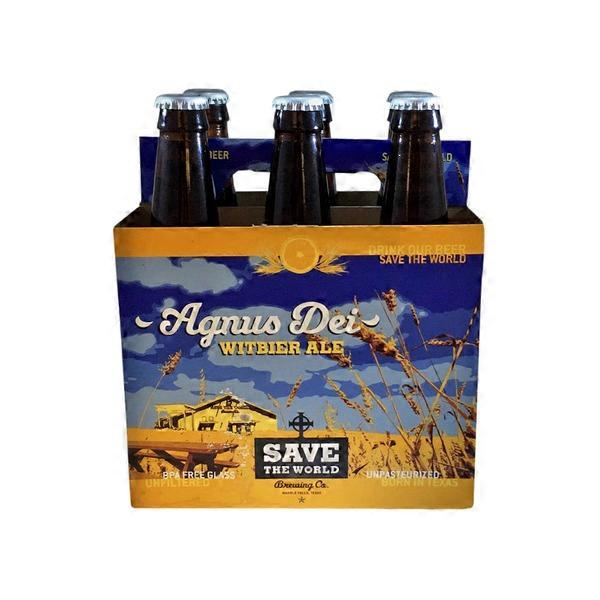 Save The World Agnus Dei Witbier from Randalls - Instacart