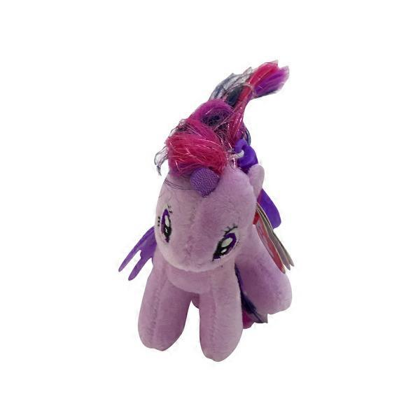 3d3c2bc0672 Ty Beanie Baby Ty My Little Pony Twilight Sparkle Plush Clip from ...