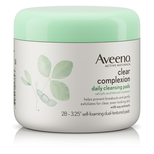 Aveeno® Clear Complexion Daily Cleansing Pads (28 ct) from