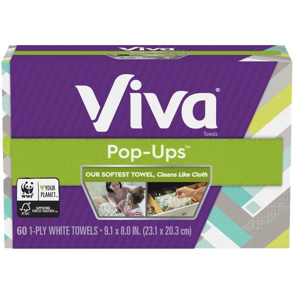 Viva Pop-Ups Paper Towels (60 ct) from Safeway - Instacart