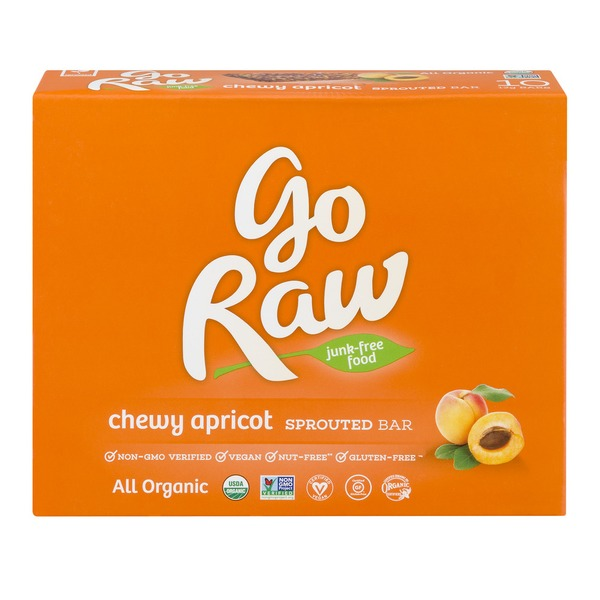 Go Raw Sprouted Bar Chewy Apricot (12 g) - Instacart