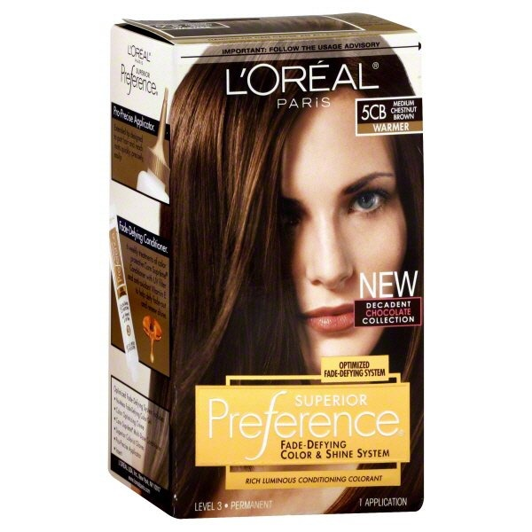 Superior Preference Warmer 5cb Medium Chestnut Brown Hair Color From