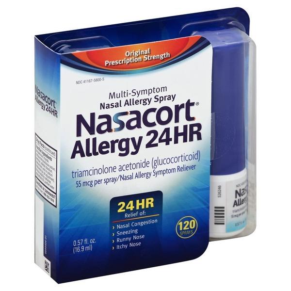 Nasacort Allergy 24 Hr Multi Symptom Nasal Allergy Spray From Jewel
