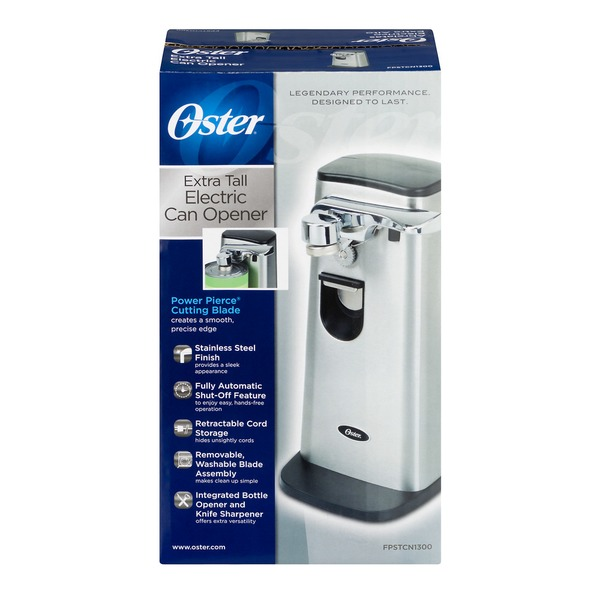 Oster Extra Tall Electric Can Opener 10 Ct From Kroger Instacart