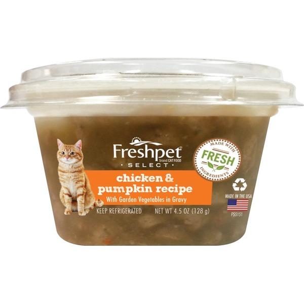 Freshpet Select Cat Food Chicken Pumpkin Recipe From Kroger