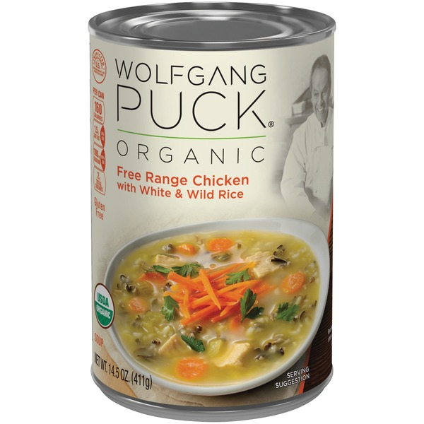 Wolfgang Puck Chicken Rice Soup From Whole Foods Market Instacart