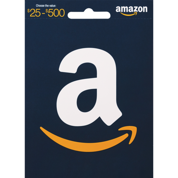 cvs amazon gift card amazon gift card 25 500 1 ct from cvs pharmacy 7243