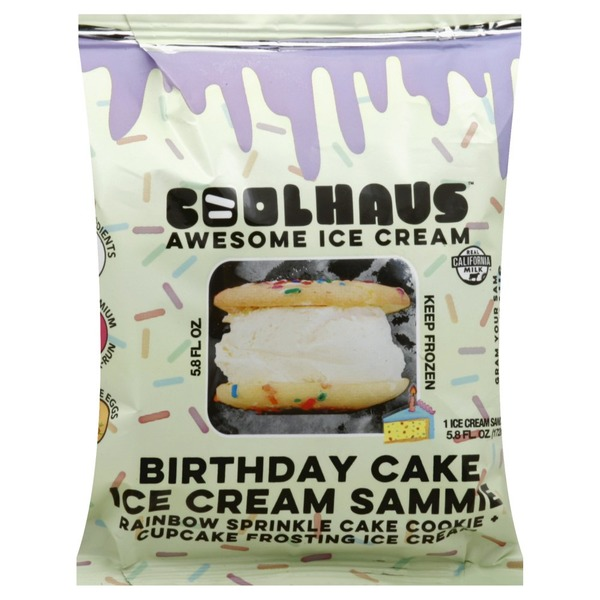 Awe Inspiring Coolhaus Ice Cream Sandwich Birthday Cake 5 8 Each From Jewel Birthday Cards Printable Benkemecafe Filternl