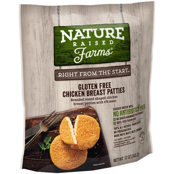 Nature Raised Farms Gluten Free Chicken Breast Patties From Publix