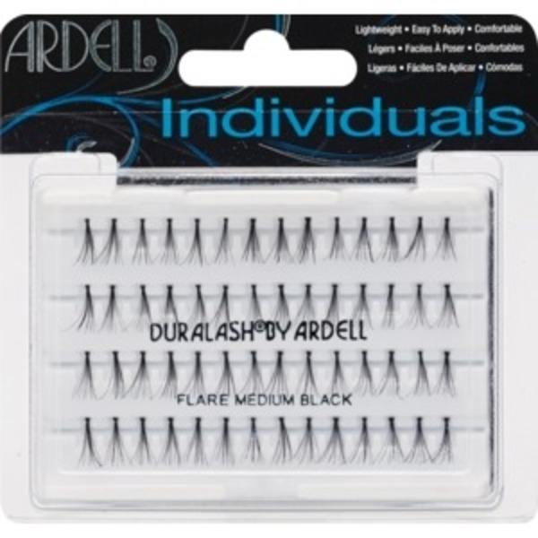 52608cca3a5 Ardell DuraLash Individual Lashes - Natural Individuals Flare Medium Black  (each) from Albertsons - Instacart