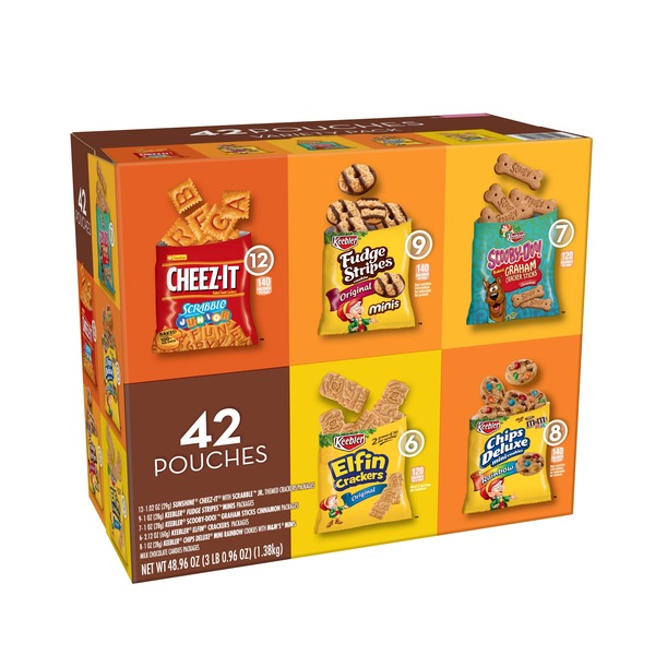 Keebler Cookies and Crackers Variety Pack (48 86 oz) from