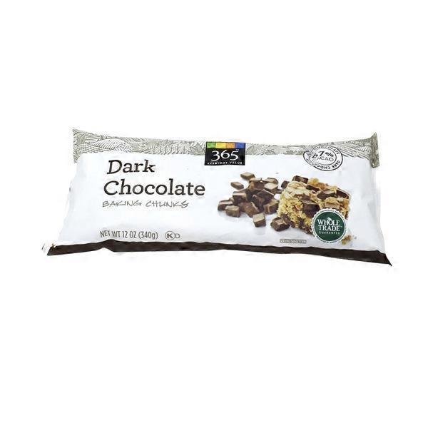 365 Dark Chocolate Baking Chunks