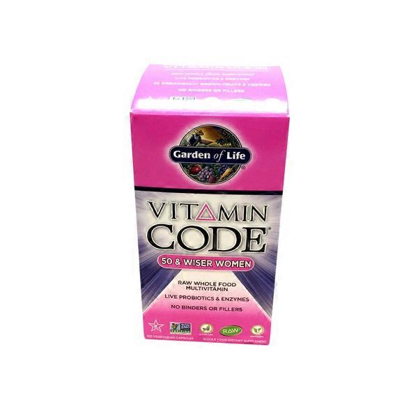 Garden Of Life Vitamin Code 50 Wiser Women 39 S Multivitamin From Whole Foods Market Instacart