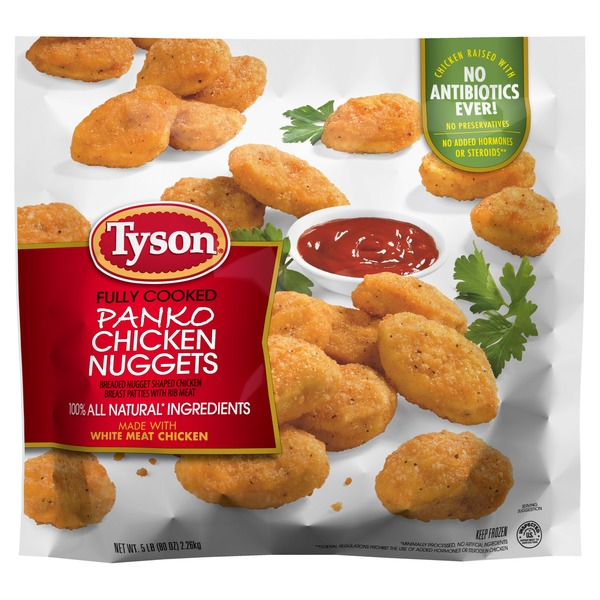 Tyson Fully Cooked White Meat Chicken Nuggets 80 Oz From Costco