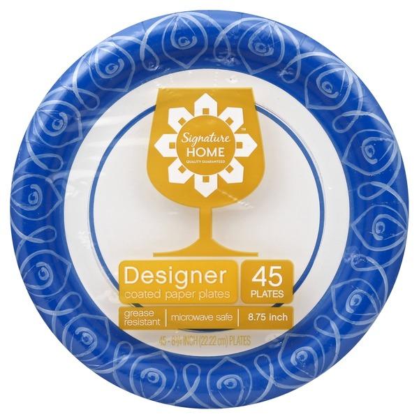 S Home 8 3/4 Designer Plate  sc 1 st  Instacart & S Home 8 3/4 Designer Plate (45 ct) from Safeway - Instacart